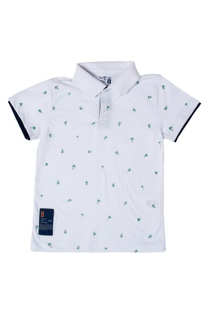 Camiseta-Polo-FBR-Kids-Branca