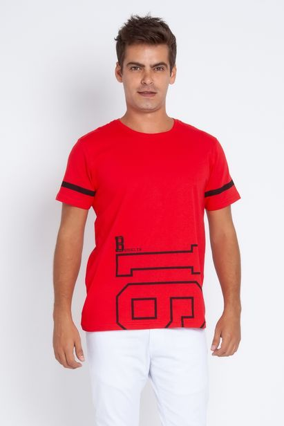 Camiseta-Masculina-Dress-Miles-Vermelha1539260541044