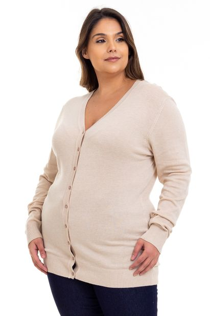 Cardigan_Plus_Size_Bege_557